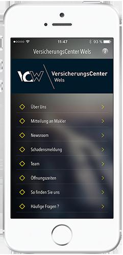 VersicherungsCenter Wels - Smartphone App